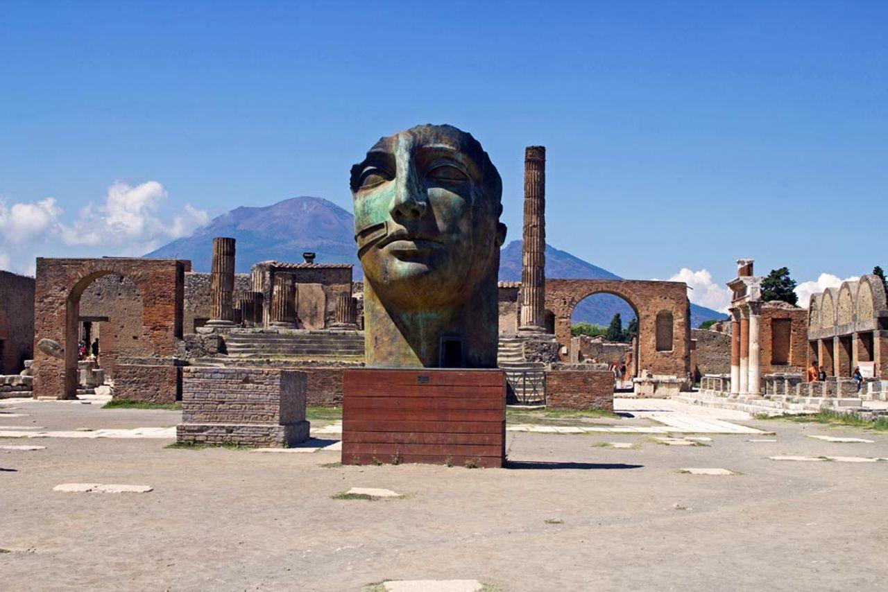 Spüren Sie Pompeji