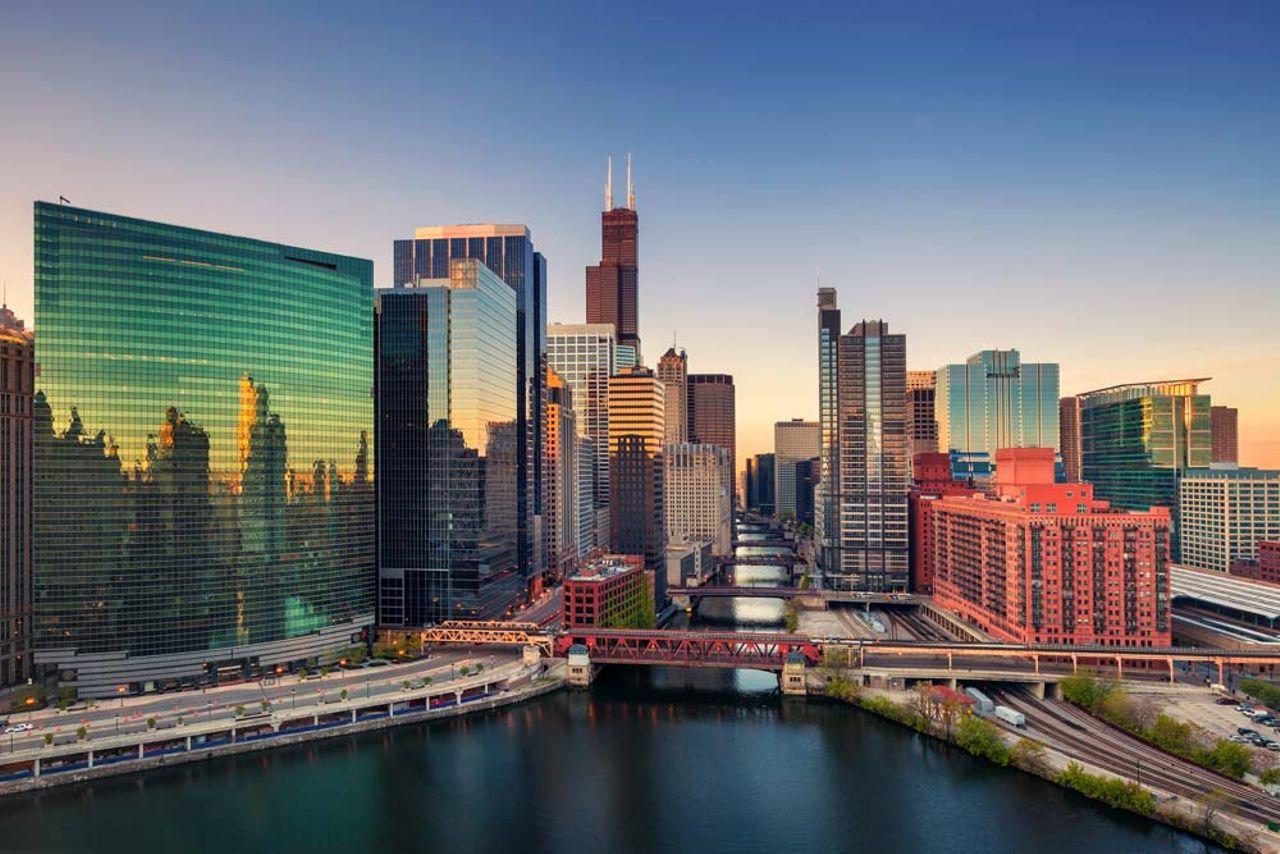 Journée d'aventure à Chicago