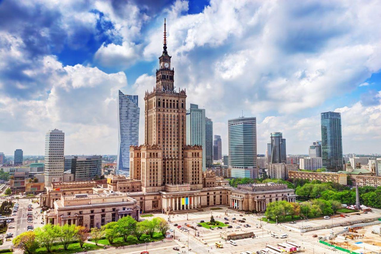 Besuchen Sie Warschau und Danzig