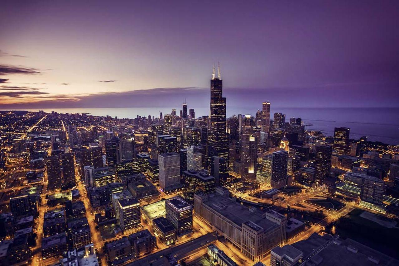Visitez Chicago sous les étoiles
