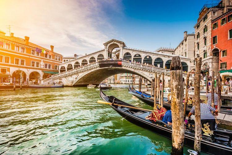 Spüren Sie Venedig