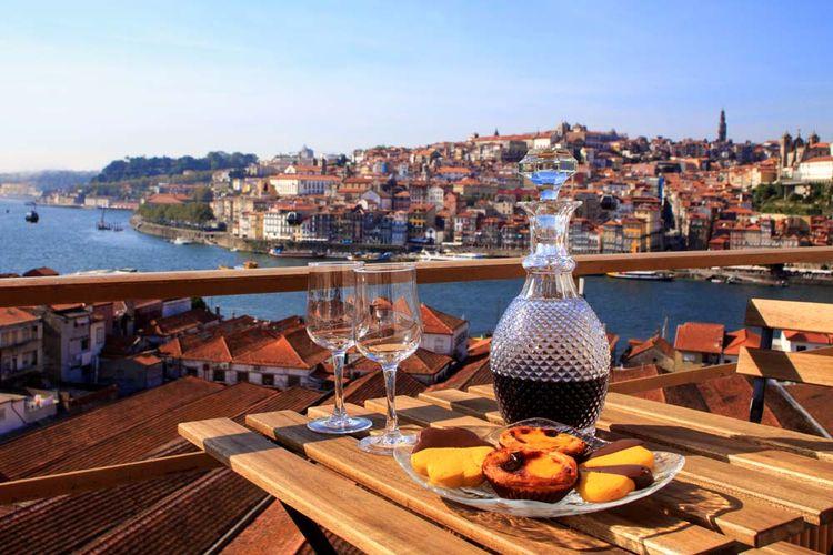 Prueba el sabor de Porto